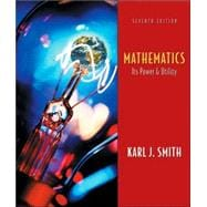 Mathematics Its Power and Utility (with Conquering Math Anxiety and InfoTrac)