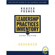 The Leadership Practices Inventory (LPI): Observer, 3rd Edit..., 9780787967277
