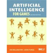 Artificial Intelligence for Games, 9780123747310  