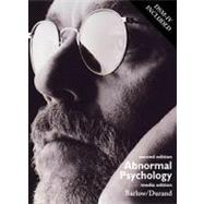 Abnormal Psychology With Infotrac : An Integrative Approach/With Dsm-IV w/ CD