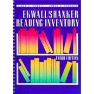 Ekwall - Shanker Reading Inventory.