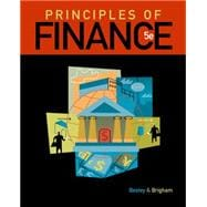 Principles of Finance, 9781111527365