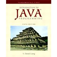 Introduction to Java Programming : Fundamentals First