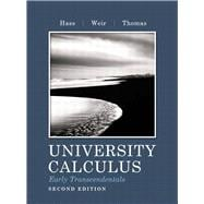 University Calculus Early Transcendentals,9780321717399