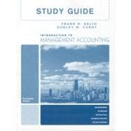 Study Guide Introduction To Management Accounting-Full Book
