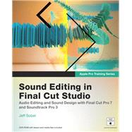 Apple Pro Training Series: Sound Editing in Final Cut Studio, 9780321647481  