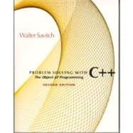 Problem Solving With C++ : The Object of Programming