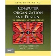 Computer Organization and Design : The Hardware/Software Int..., 9780123747501