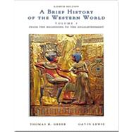 A Brief History of the Western World With Infotrac,9780534167509