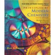 Study Guide/Solutions Manual for Oxtoby/Gillis/Nachtrieb's Principles of Modern Chemistry,9780030247514