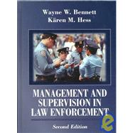 Management and Supervision in Law Enforcement,9780314067517