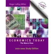 Economics Today : The Macro View, 2001-2002 Study Edition