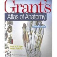 Grant's Atlas of Anatomy,9781608317561