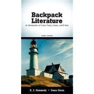 Backpack Literature : An Introduction to Fiction, Poetry, Drama, and Writing,9780205727582