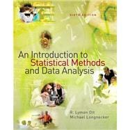 An Introduction to Statistical Methods And Data Analysis,9780495017585