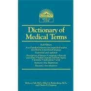 Dictionary of Medical Terms,9780764147586
