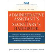 Administrative Assistant's and Secretary's Handbook, 9780814417607