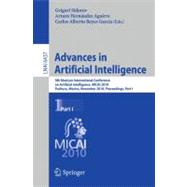 MICAI 2010: Advances in Artificial Intelligence : 9th Mexica..., 9783642167607  
