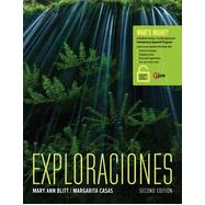 Exploraciones (with Student Activities Manual and iLrn� Heinle Learning Center, 4 terms (24 months) Printed Access Card)