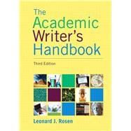 Academic Writer's Handbook,9780205717613