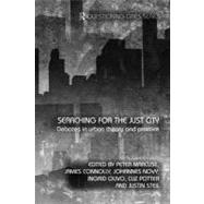 Searching for the Just City: Debates in Urban Theory and Pra..., 9780415687614