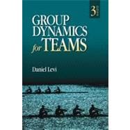 Group Dynamics for Teams,9781412977623