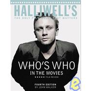 Halliwells Whos Who in the Movies: The Only Film Guide That ..., 9781435277632  