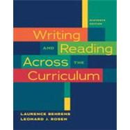 Writing and Reading Across the Curriculum,9780205727650
