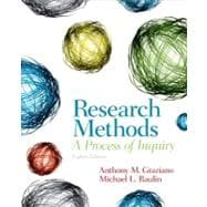 Research Methods : A Process of Inquiry,9780205907694