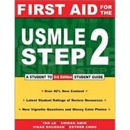 First Aid for the Usmle Step 2