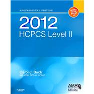 HCPCS 2012 Level II Professional Edition,9781455707706