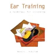 Ear Training: A Technique for Listening w/ Audio CD,9780072287707