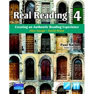 Real Reading 4 Creating an Authentic Reading Experience (mp3 files included),9780135027714
