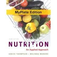 Nutrition : An Applied Approach with 2010 Dietary Guidelines, DRIs and MyPlate Update Study Card