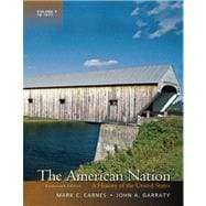 The American Nation A History of the United States, Volume 1 Plus NEW MyHistoryLab with eText -- Access Card Package,9780205207725