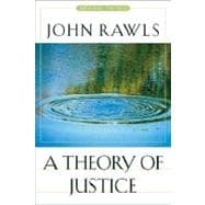 A Theory Of Justice: Original Edition,9780674017726