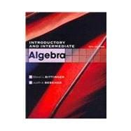 Introductory and Intermediate Algebra plus MyMathLab/MyStatLab Student Access Code Card,9780321717733
