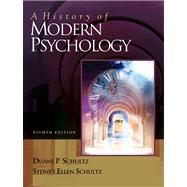A History of Modern Psychology With Infotrac,9780534557751