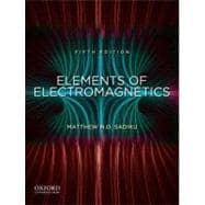 Elements of Electromagnetics,9780195387759