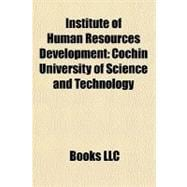 Institute of Human Resources Development : Cochin University..., 9781156457788  