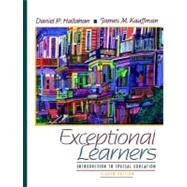 Exceptional Learners : Introduction to Special Education,9780205287796