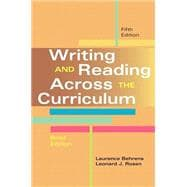 Writing and Reading Across the Curriculum, Brief Edition Plus MyWritingLab -- Access Card Package