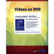 Videos on DVD for Introductory Algebra,9780321607812