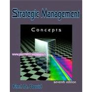 Concept's Strategic Management,9780130807847