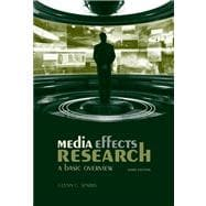 Media Effects Research : A Basic Overview