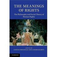The Meanings of Rights,9781107027855