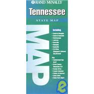 Rand McNally Tennessee State Map