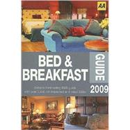 Aa Bed & Breakfast Guide 2009, 9780749557867  