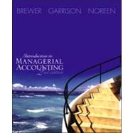 Introduction to Managerial Accounting -Text,9780072817874