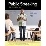 Public Speaking The Evolving Art, Enhanced (with CourseMate with InfoTrac 1-Semester, Interactive Video Activities, SpeechBuilder Express 3.0 1-Semester, SpeechStudio 2.0 Printed Access Card)